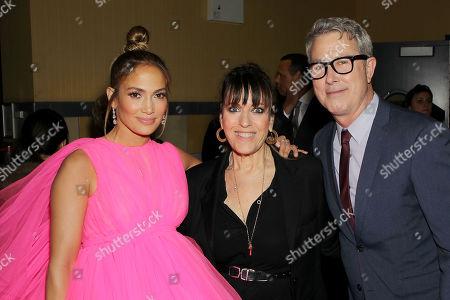 Jennifer Lopez, Elaine Goldsmith-Thomas (Producer, Co-Screenwriter), Peter Segal (Director)