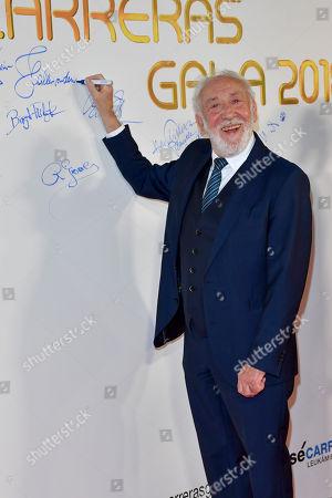Editorial photo of Carreras Gala, Munich, Germany - 12 Dec 2018