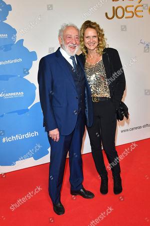 Dieter Hallervorden, Freundin Christiane Zander
