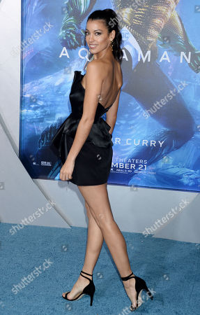 Editorial photo of 'Aquaman' film premiere, Arrivals, Los Angeles, USA - 12 Dec 2018