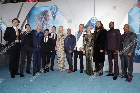 Editorial photo of Warner Bros. Pictures world film premiere of 'Aquaman' at the TCL Chinese Theatre, Los Angeles, USA - 12 Dec 2018