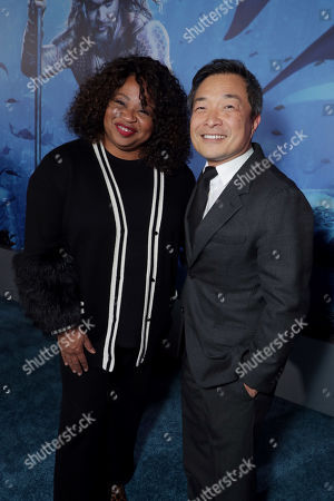 Pam Lifford, President, Warner Bros. Global Brands and Experiences, Jim Lee, Chief Creative Officer and Co-Publisher of DC Entertainment,
