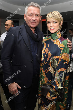 Sean Pertwee and Erin Richards