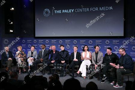 Cast of Gotham with Executive Producer John Stephens