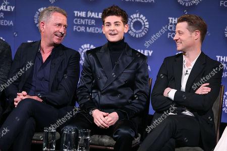 Sean Pertwee, David Mazouz and Benjamin McKenzie