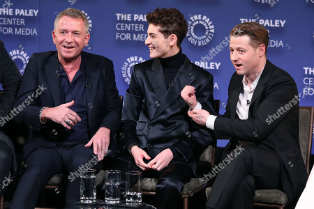 Editorial image of PaleyLive Presents - 'Gotham', New York, USA - 12 Dec 2018