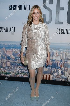 Editorial image of 'Second Act' film premiere, Arrivals, New York, USA - 12 Dec 2018