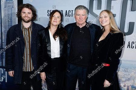 Treat Williams and family