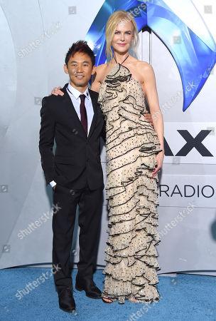 James Wan and Nicole Kidman