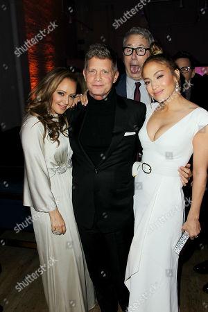 Leah Remini, Robert Simonds (CEO & Founder STX Entertainment), Peter Segal (Director), Jennifer Lopez