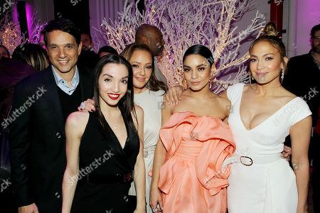 Ralph Macchio, Julia Macchio, Leah Remini, Vanessa Hudgens, Jennifer Lopez