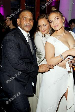 Benny Medina (Producer), Leah Remini, Jennifer Lopez