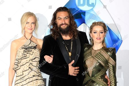 Editorial picture of World premiere of Aquaman, Los Angeles, USA - 13 Dec 2018