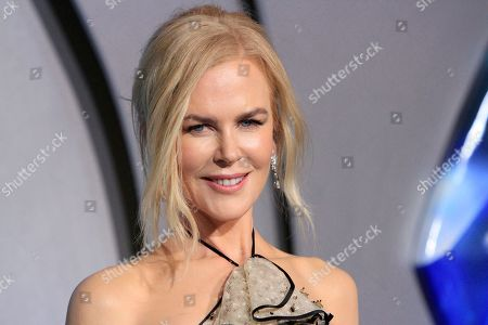 Stock Picture of Nicole Kidman attends the world premiere of Aquaman at the TCL Chinese Theatre IMAX in Hollywood, California, USA, 12 December 2018. The movie opens in the US on 21 December 2018.