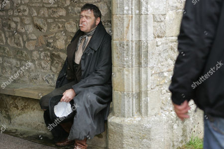 'Wuthering Heights'  TV  - 2009 - Kevin R. McNally as Mr Earnshaw. Behind the scenes.