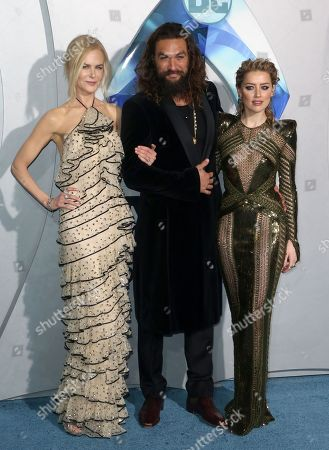 Nicole Kidman, Jason Momoa, Amber Heard