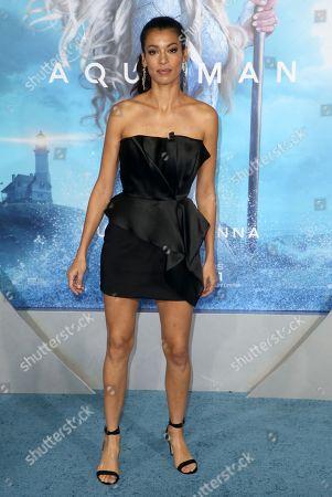 Editorial photo of 'Aquaman' film premiere, Arrivals, Los Angeles, USA - 12 Dec 2018