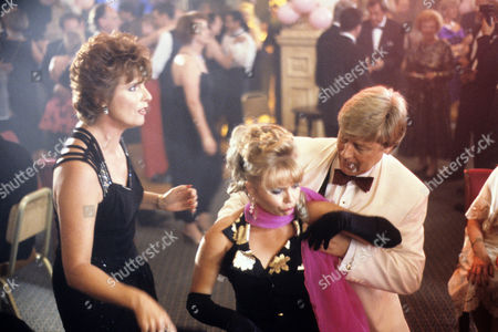 'A Touch of Frost'  TV - 1996 - Fun Time for Swingers - Jan Harvey as Yvonne Newbiggin, Rebecca Lacey as Anne Marie Pearce and Martin Jarvis as Harvey Wade.