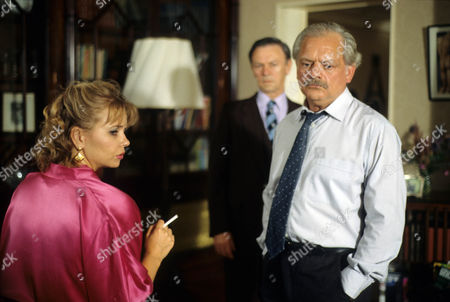 'A Touch of Frost'  TV - 1996 - Fun Time for Swingers - Rebecca Lacey as Anne Marie Pearce, Russell Hunter as Prentice and  David Jason as Jack Frost