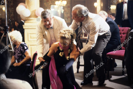 'A Touch of Frost'  TV - 1996 - Fun Time for Swingers - Rebecca Lacey as Anne Marie Pearce and David Jason as Jack Frost and Peter Wight as Cyril Pearce.