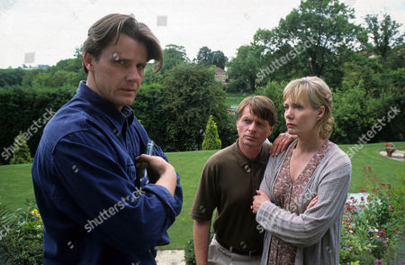 'A Touch of Frost'  TV - 1997 - True Confessions - Anthony Calf as James Barr, David Beames as Alec Barr and Jane Wymark as Fiona Barr.