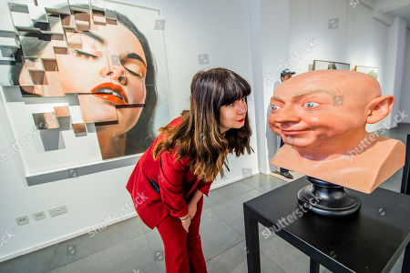 Editorial photo of Beyond reality exhibition, Opera Gallery, London, UK - 13 Dec 2018 - 13 Dec 2018