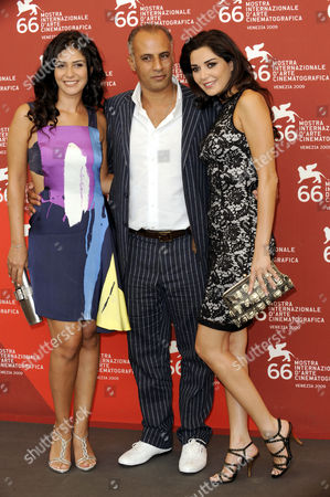 Basma Hassan, Director Ahmed Maher and Cyrine AbdelNour