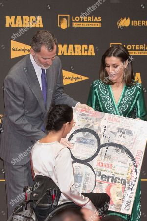 Editorial image of Marca Sport magazine 80th anniversary celebration, Royal Theatre, Madrid - 13 Dec 2018