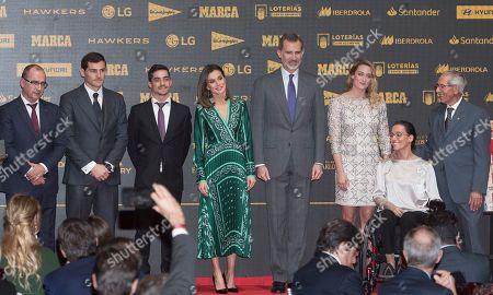 Editorial photo of Marca Sport magazine 80th anniversary celebration, Royal Theatre, Madrid - 13 Dec 2018