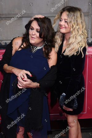 Emily Atack and mother Kate Robbins