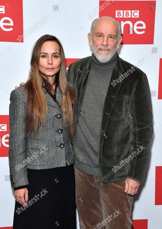 Tara Fitzgerald and John Malkovich
