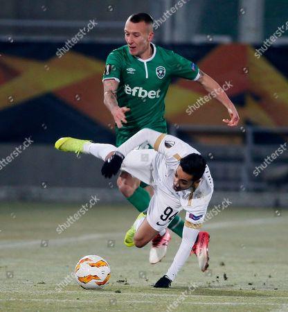 Editorial picture of Soccer Europa League, Razgrad, Bulgaria - 13 Dec 2018