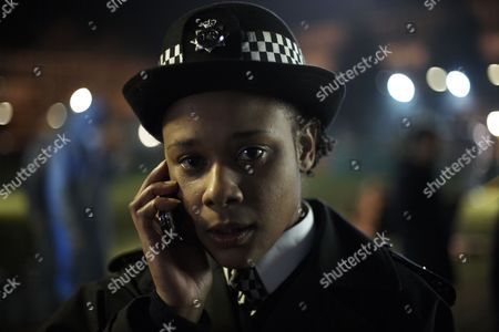 Stock Image of 'Gunrush'  TV - 2009 - Frances Ashman as PC Susie Byson.