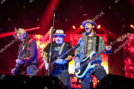 Stock Photo of Black Stone Cherry - Ben Wells, Chris Robertson, Jon Lawhon