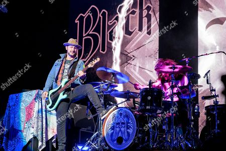 Editorial photo of Black Stone Cherry in concert at First Direct Arena, Leeds, UK - 13 Dec 2018