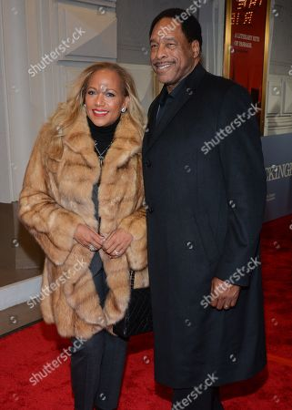 Stock Picture of David Winfield and Tonya Turner