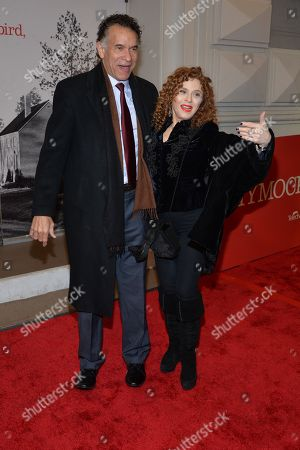 Brian Stokes Mitchell and Bernadette Peters