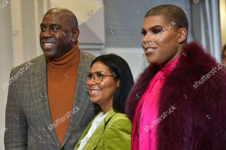 Magic Johnson, Cookie Johnson, EJ Johnson