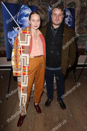 Mona Lerche and Brady Corbet