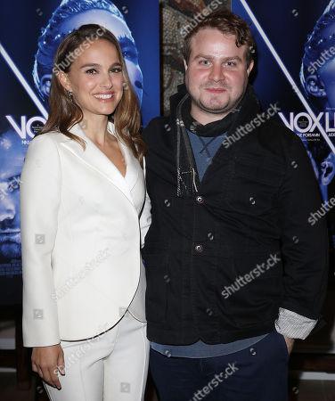Natalie Portman and Brady Corbet