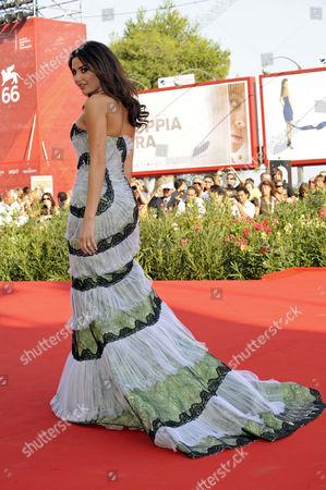 Editorial image of 'The Traveller' film premiere, Venice Film Festival, Venice, Italy - 10 Sep 2009