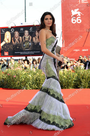 Editorial image of 'The Traveller' film premiere, Venice Film Festival, Venice, Italy - 10 Sep 2009