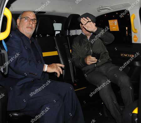 Tom Hollander and Alan Yentob