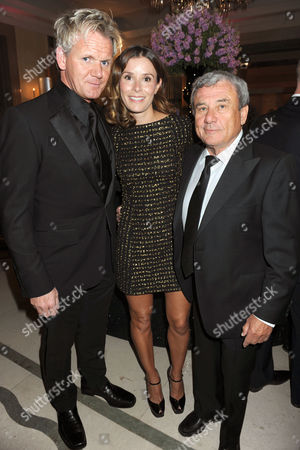 Gordon Ramsay, Tana Ramsay and Sol Kerzner