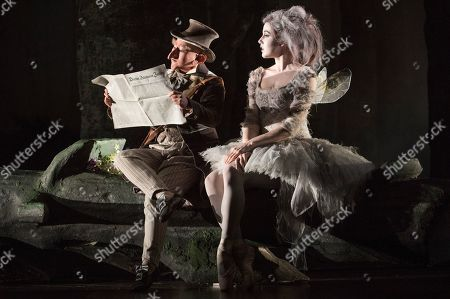 Stock Image of Haegee Lee as The Sandman,  Isabella McGuire Mayes