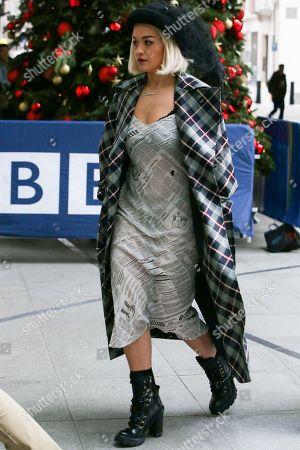 Stock Image of Rita Ora at BBC Radio 2 studios