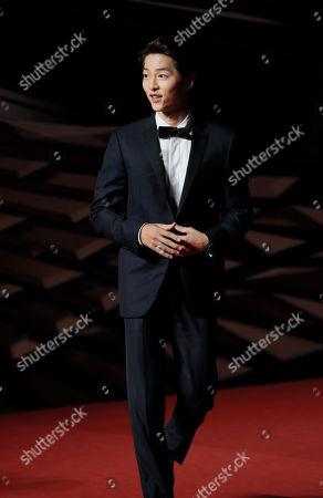 Editorial picture of South Korea MAMA Awards, Hong Kong, Hong Kong - 14 Dec 2018