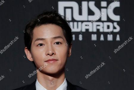 Editorial photo of South Korea MAMA Awards, Hong Kong, Hong Kong - 14 Dec 2018