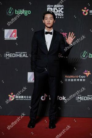 Editorial image of South Korea MAMA Awards, Hong Kong, Hong Kong - 14 Dec 2018
