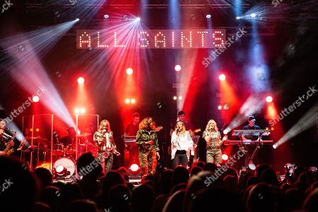 All Saints - Nicole Appleton, Shaznay Lewis, Melanie Blatt, and Natalie Appleton